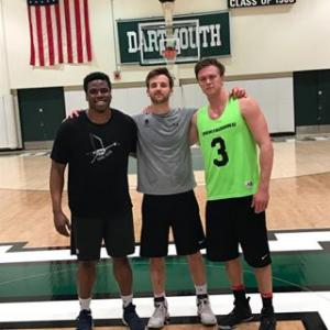 The spring 2018 intramural 3-on-3 basketball champions