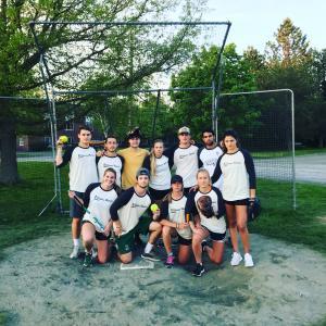 Co-Recreation Softball Chamption - the Bahama Mama's