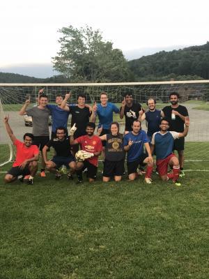 Soccer League Champions - Grad Soccer