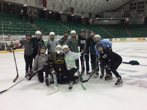 Fowler's Angels - Women's League Ice Hockey Champions