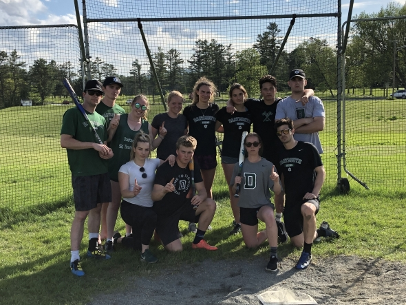Co-Rec Softball Champs - Ski Team